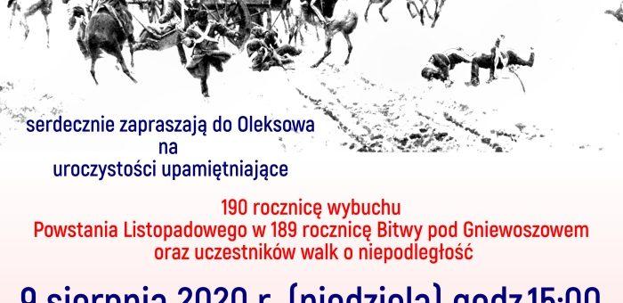 190 rocznica wybuchu Powstania Listopadowego